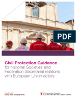 Civil Protection IFRC Guidance