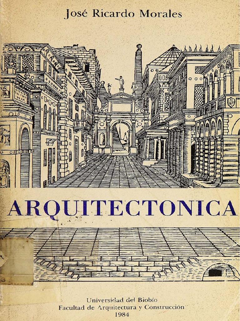Libro arquitectonica jose ricardo morales pdf