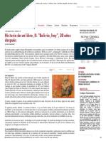Historia de Un Libro, II_ _Bolivia, Hoy_, 30 Años Después _ Nueva Crónica