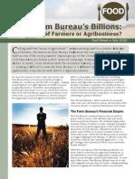 The Farm Bureau's Billions