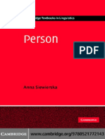 """Person"" Anna Siewierska"