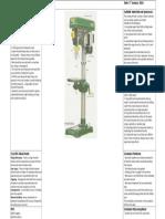 Pillar Drill Risk Assessment