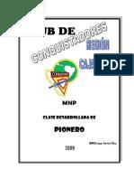 Clase desarrollada de Pionero - Club de Conquistadores