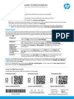HP Officejet Pro 8630 Quick Guide