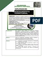 Presentacion Diplomado en Ordenamiento Territorial U-r
