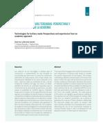Tecnologías Para Vías Terciarias - Perspectivas y Experiencias Desde La Academia