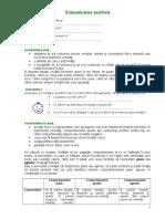 Asertivitate Test Cl a IXa