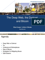 Elisa Cooper & Akino Chikada - The Deep Web, The Darknet and Bitcoin