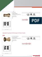 Giacomini - Modelo A7BP y Piton Policarbonato A7BP y Bronce A7B