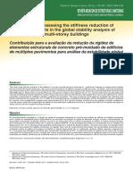 Pt_a05v5n3_contribuição Para Avaliação Da Rigidez de Elementos Estruturais de Concreto Pre-moldado de Edificios de Multiplos Pavimentos Para Analise Da Estabilidade Global