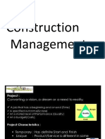 construction management basics