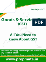 Goods and Service Tax - Shubham's IAS