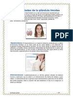 Enfermedades de La Glándula Tiroides
