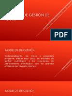 4 GMP Modelos de Gestión de Mypes