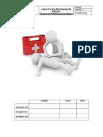 Capacitación primeros auxilios