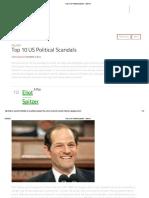 Top 10 US Political Scandals - Listverse