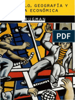 Paul Krugman - Desarrollo Geografía y Teoria Económica