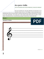 Como Leer Musica Para Violin