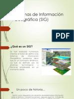 Sistemas de Información Geográfica (SIG) Expo