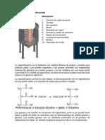Reactor de Saponificacion