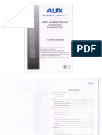 Manual de MiniSplit AUX