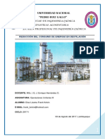 Reduccion Del Consumo de Enegia en Destilación