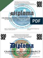 Diploma Aprov. Generacion Adilene Stephany Estrada