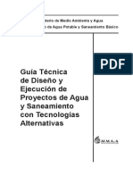 Anexo 2. Guía Tecnica MMAyA (THN y Tubería HDPE)