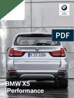 Ficha técnica BMW X5 xDrive40e PHEV