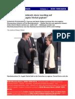 War Merkel in Gefahr Wochenzeitung Berichtet