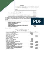Elaboración del Estado de Resultados y Estado de Costos de Ventas