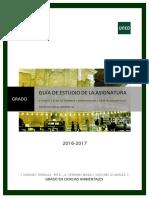 Guia Estudio Grado 2ªparte Derecho Penal Ambiental UNED