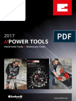 Einhell Catalogue Tools En