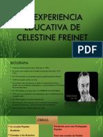 La Experiencia Educativa de Celestine Freinet