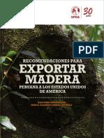 USAID Recomendaciones Para Exportar Madera a USA