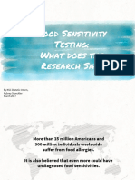 Food Allergy & Sensitivity
