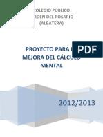 Proyecto Mejora Calculo Mental a Través de Las Tablas de Cálculo
