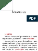 Crítica Literária.pptx