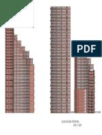 Torre Del Parque Corte Elevacion