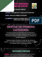 Renta de 1 Cateroria Vargas Diaz Yaseli Roxana