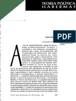 [1996] Jürgen Habermas - Três Modelos Normativos de Democracia