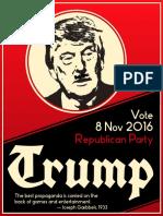 Trump Campaign Flyer