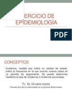 Ejercicio de Epidemiología