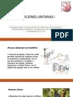 Operaciones Unitarias i - Ppt 1