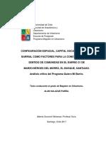 Configuracion Espacial Capital Social e Identidad