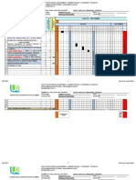 Diagrama de Gantt 2017-20 GCIA FCIERA