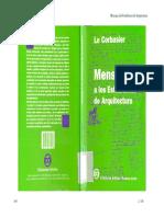 Mensaje a los estudiantes de arquitectura - Le Corbusier.pdf