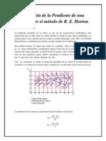 Obtención Pendiente de una Cuenca por el método Horton.docx