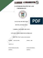 Informe Modeo de Arenas