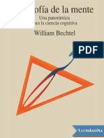 Filosofia de La Mente - William Bechtel